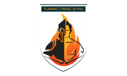 Flaming Cyborg Alpha